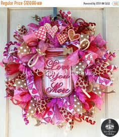 On Sale 15% Off Burlap wreath deco mesh by MrsChristmasWorkshop