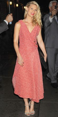 Look of the Day - Claire Danes  - from InStyle.com