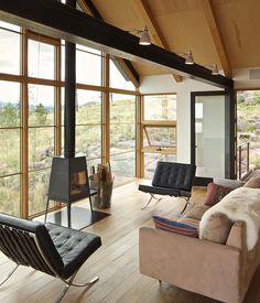 interior of Family house in Boulder, Colorado / by Renée del Gaudio (photo by David Lauer)