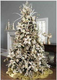 perfectlyfestive | Winter's Lace Tree