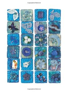 Inchies: Create Miniature Works of Art Using Textiles and Mixed Media Techniques: Peggy Donda-Kobert: 9781844484836: Amazon.com: Books