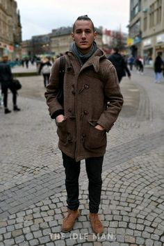 Men's Street Style - Keep Warm - Chunky Coats