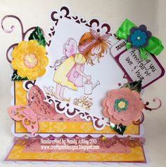 From Polkadoodles Sugar Plum Daisy papercrating CD!