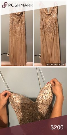 880af0d259 Spotted while shopping on Poshmark  Mother of the bride lace gown ...