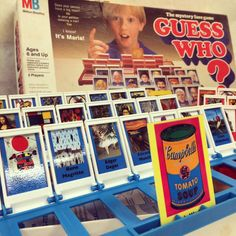 It's finally done. Change your old Guess Who games into Art History ones. We played today and it is super addicting!