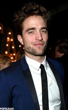 Robert Pattinson at the Vanity Fair Oscars afterparty