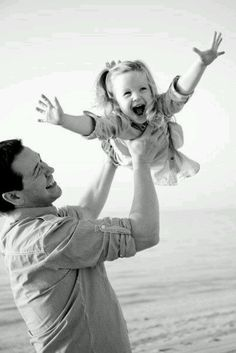 father & daughter - free airplane rides #fatherhood
