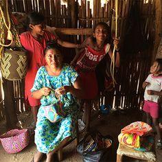 Wayuu Family in La Guajira , Colombia.