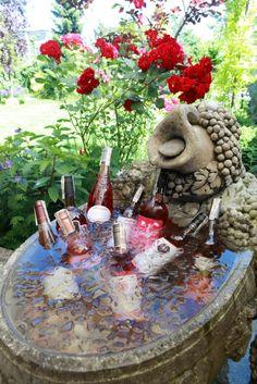 Różowe schłodzone