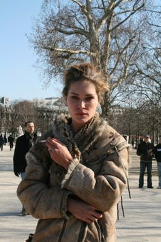 Erin Wasson #coat #inspiración