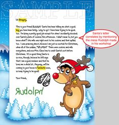 Sample Letters From Santa Claus | Letter From Santa
