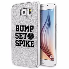 For Samsung Galaxy S4 S5 S6 Edge Glitter Bling Case Bump Set Spike Volleyball in Cell Phones & Accessories, Cell Phone Accessories, Cases, Covers & Skins | eBay
