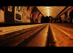 Vauxhall Tube Station, April 7th 2012. Cinemascoped with Picasa 3.