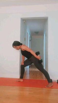 Dumbbell arm/back Workout