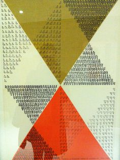 60s printed linen by Lucienne Day