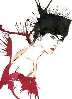 Fashion Illustration : Photo