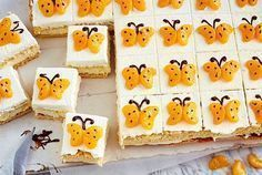 Mandarin butterfly cuts- Mandarinen-Schmetterlingsschnitten Our popular recipe for tangerine butterfly cuts and over other free recipes LECKER. Baby Shower Desserts, Baby Shower Cupcakes, Brownies Oreo, Cut Recipe, Girl Cupcakes, Food Humor, Popular Recipes, Free Recipes, Food Art