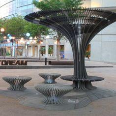 Talenia Phua Gajardo criou as 'TREES' para a Semana de Design em Singapura. Interessante não!? #designversato