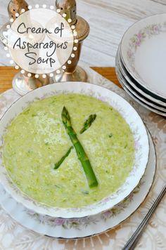 Cream of Asparagus Soup Recipe - Life Love Liz