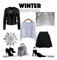 """""""it's cold outside"""" by my-fashion-paradise ❤ liked on Polyvore featuring Avelon, Giuseppe Zanotti, Michael Kors, Chloé, women's clothing, women's fashion, women, female, woman and misses"""