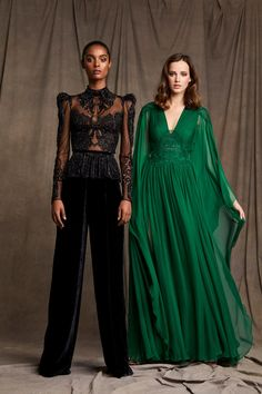 Zuhair Murad Pre-Fall 2020 Fashion Show - Zuhair Murad Pre-Fall 2020 Collection – Vogue - Fashion Week, Fashion 2020, Runway Fashion, High Fashion, Women's Fashion, Fashion Trends, Zuhair Murad, Style Haute Couture, Couture Fashion