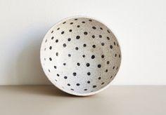 RECREATION CENTER CERAMICS // Dotted Bowl