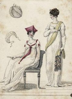 Fashion plate, 1806 England, La Belle Assemblée by sharron