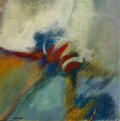 Studie 24, 2003 (P.Wienand)  Acryl auf Leinwand/Holz, 25 x 25 cm