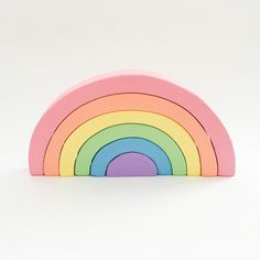 All sorts of amazing wooden toys from animals, to rainbow stackers, to pretend food we have it all at little whimsy. Including the popular Le Toy Van toys. Rainbow Nursery Decor, Stacking Toys, Designer Toys, Wood Toys, Little Ones, Playroom, Kids Toys, Rainbows, Pastel