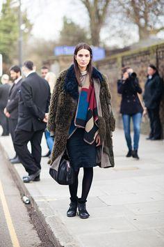 wooly mammoth Mijo. #offduty in London. #MijoMihaljcic