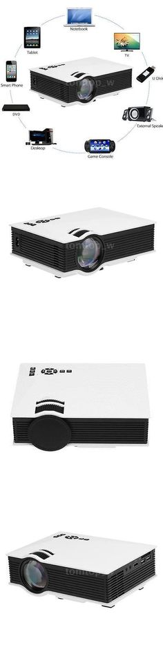 Home Theater Projectors: Uc46 Wifi Portable Mini Hd Led Video Home Theater Cinema Projector Miracast B7z5 BUY IT NOW ONLY: $67.95 #homecinemaprojector #hometheaterdiy
