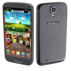 iNew M2 Android 4.2 Smartphone Dual SIM MTK6589 Quad Core 1GB RAM 4GB 5.0 Inch 12.0MP Camera - Black