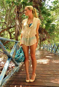 Cuba beach look