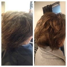 grey coverage with highlights and lowlights to soften, lighten, and brighten Marylyn Toney - Rachael Davis Hair Studio, Newport News Virginia