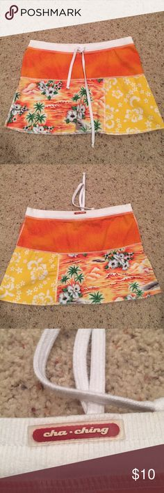 Drawstring Skirt Purchased as a tennis skirt but it does not have shorts underneath. Skirts Mini