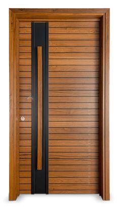 Main Entrance Door Design, Wooden Front Door Design, Wooden Front Doors, Main Door, Flush Door Design, Door Design Interior, Interior Modern, Living Room Panelling, Veneer Door