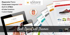 Best OpenCart Themes of 2012