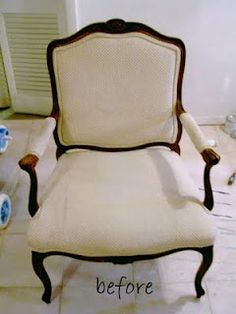 arm chair makeover