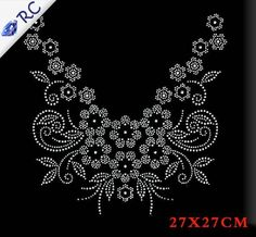 20 Pcs/Lot Cheap Price Hotfix Motif, Hawk Head Rhinestone Iron On Transfers Wholesale For Garments Decoration Embroidery Neck Designs, Embroidery Suits Design, Machine Embroidery Patterns, Ribbon Embroidery, Rhinestone Art, Rhinestone Transfers, Rhinestone Appliques, Beadwork Designs, Jewelry Design