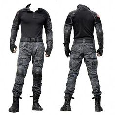 Army Military Tactical Combat Uniform Clothes With Knee Pads – (:Tap The LINK NOW:) We provide the best essential unique equipment and gear for active duty American patriotic military branches, well strategic selected.We love tactical American gear Tactical Uniforms, Tactical Armor, Tactical Wear, Tactical Pants, Tactical Clothing, Zombie Tactical Gear, Tactical Equipment, Uniform Clothes, Army Clothes