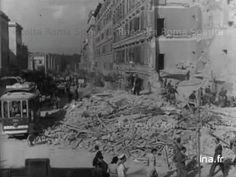 Roma Sparita - Via Tiburtina - Le macerie del bombardamento del 19 luglio 1943