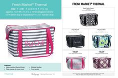 Perfect for on the go shopping or a picnic in the park this is a must have for spring and summer. www.mythirtyone.com/crystalrider