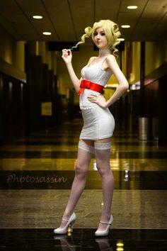 Catherine cosplay!