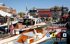 Newport Boat Show -- the best Boat Show in New England!  September 17-20, 2015