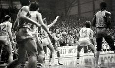 CSP Limoges vs Sibenka Sibenik, 81/82, Korac Cup final. Ed Murphy.
