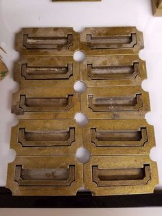 solid brass plate suite hardware push me pull you pinterest