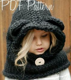 Knit baby cowl pattern. Mom make this for your grandbaby! :)