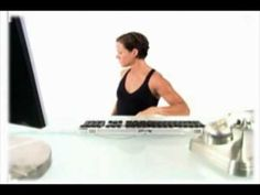 Stretching Exercises while sitting at your desk (www.thewavecorporation.com)