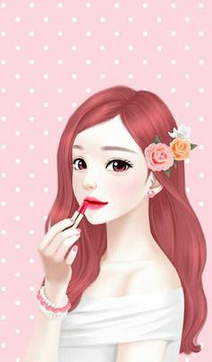 Imagen de Enakei, girl, and lovely girl