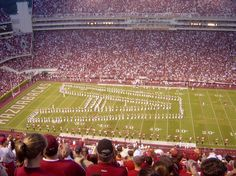 Arkansas Razorbacks games! Love the place, and the family I'm always surrounded with!
